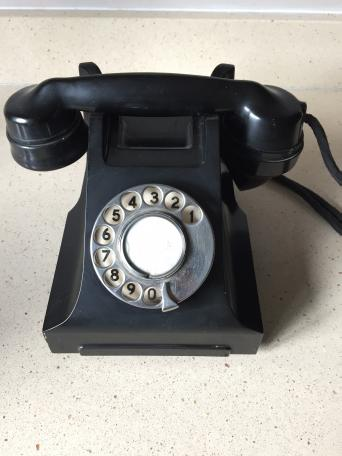 c962f97643694b Ericsson version of a 332 model telephone (no drawer), from around late  1940s early 1950s. In good condition, no cracks Sensible offers considered  ...