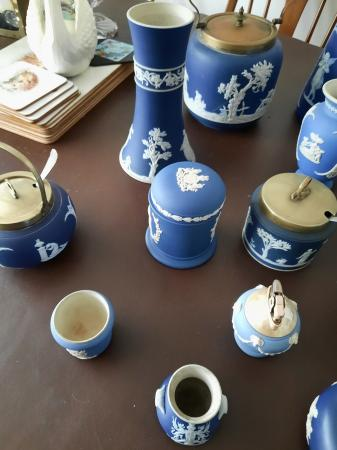 Image 4 of assorted jasperware collection