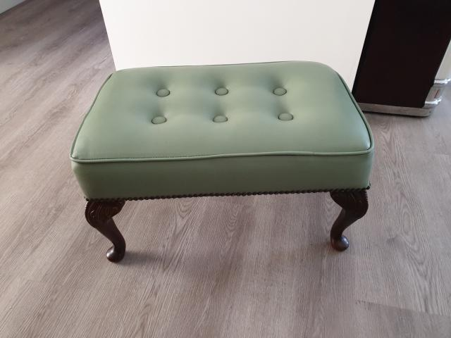 Preview of the first image of Leather Stool.