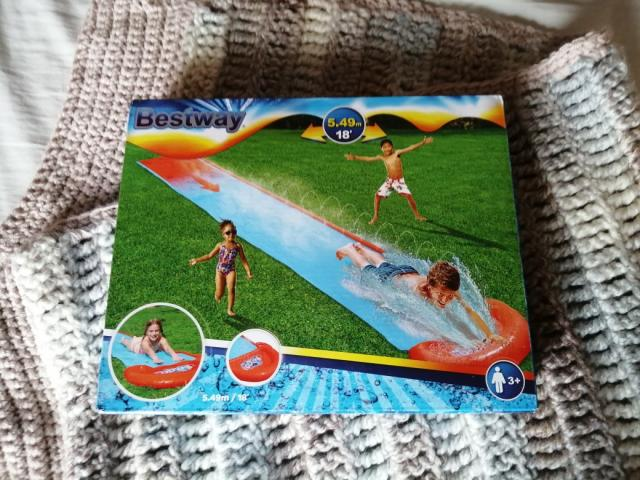 Preview of the first image of Garden slip slide.