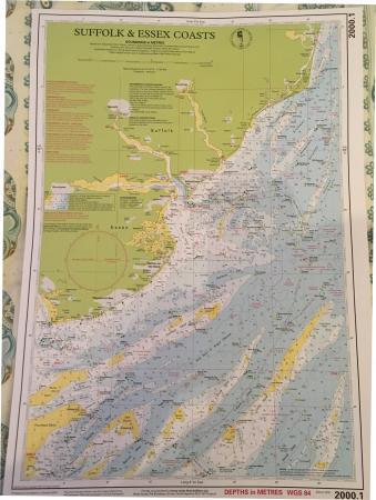 Image 3 of Imray 2015 Suffolk + Essex Chart pack + Reeds Almanac 2016
