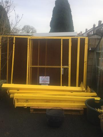 Preview of the first image of Dog run chicken pen or secure enclosure.