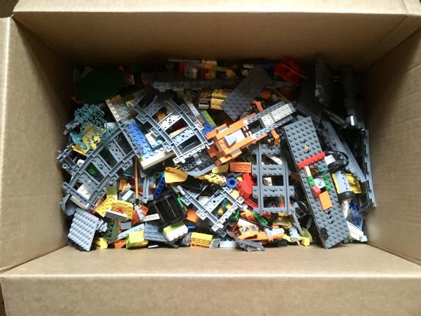 Image 1 of Large Box of Mixed Lego