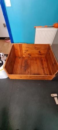 Image 1 of Whelping Box Hight 18 n half inch Length 38inch Depth 31i