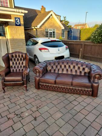 Image 1 of Chesterfield sofa