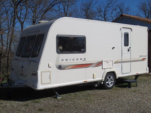 bailey unicorn seville 2 berth for sale in great bentley. Black Bedroom Furniture Sets. Home Design Ideas