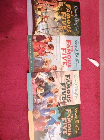 Image 2 of Enid Blyton famous five books, 10 pack