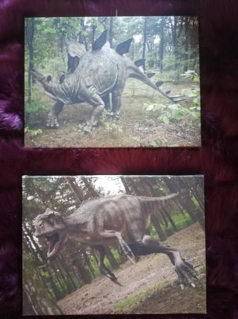 Image 3 of Dinosaur canvas pictures