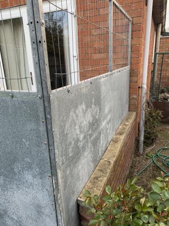 Image 3 of Galvanised steel dog run panels