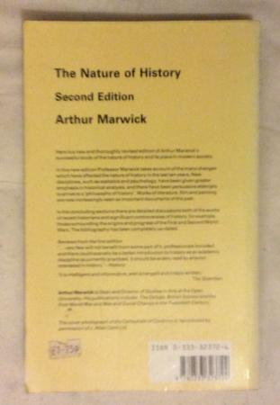 Image 3 of The Nature of History by Arthur Marwick