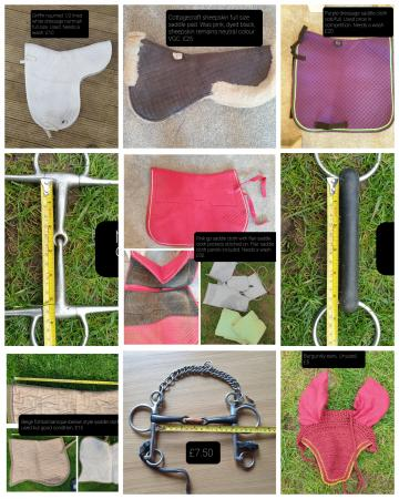 Image 2 of lots of horse stuff for sale