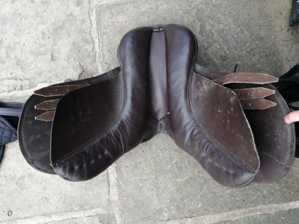 Image 2 of Brown Saddle