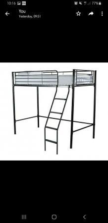 Image 1 of high sleeper single bed frame