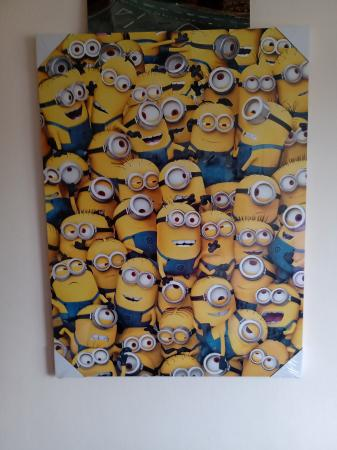 Image 1 of MINNIONS CANVAS. NEW.