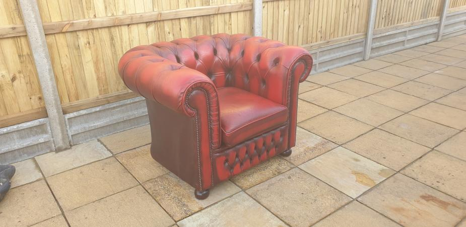 Image 3 of Chesterfield Chair