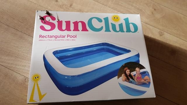 Preview of the first image of FOR SALE SUN CLUB SWIMMING POOL.