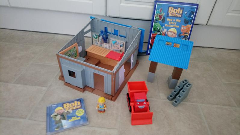 Image 1 of Bob the builder bundle - project warehouse, book and cd.