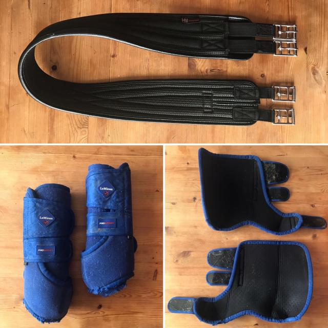 Preview of the first image of 2 x HY COMFORT GIRTHS, 2 x TENDON BOOTS.