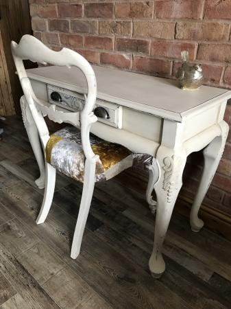 French Style Ornate Console Desk For Sale In Chesterfield