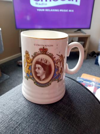 Image 1 of CORONATION OF QUEEN ELIZABETH ll JUNE 2ND 1953 MUG.
