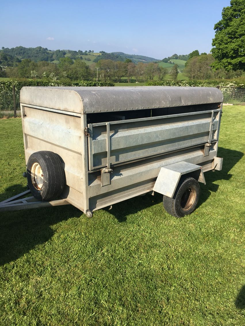 CLH livestock and quad bike trailer for sale  Welshpool