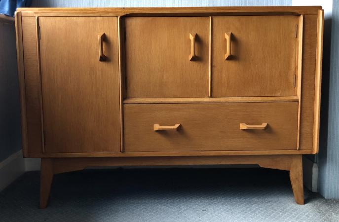 Image 3 of Retro Oak Sideboard by E Gomme