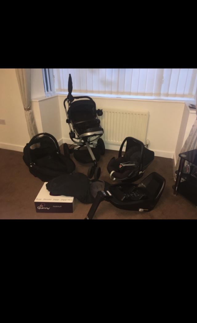 Preview of the first image of Quinny Buzz travel system.
