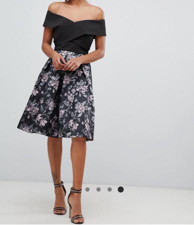 Image 3 of Off the shoulder chi chi London dress