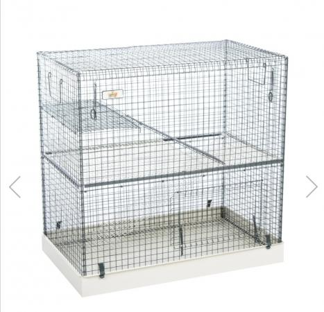 Image 2 of Large 2 tier animal cage