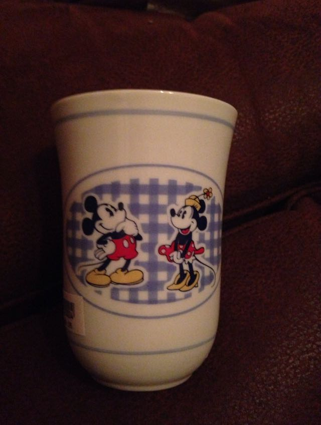 Preview of the first image of Disneyland children's Exclusive MickeyMouse Cup -Collectable.