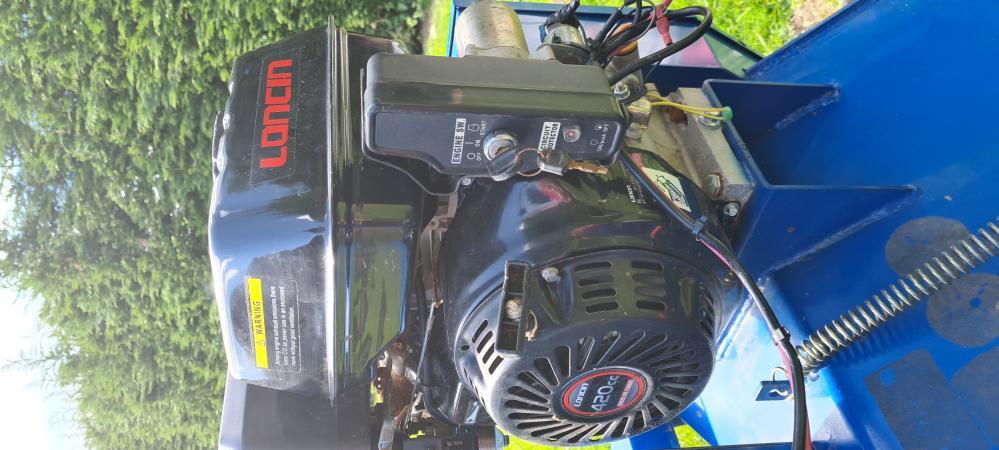 Image 2 of Electric start Loncin 420cc 1.2m Quad Flail Mower, Atv etc