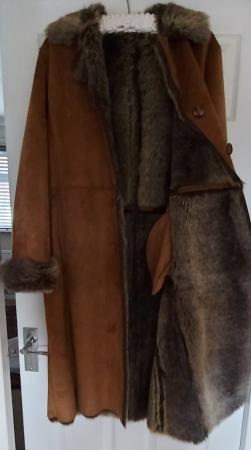 Image 2 of Vintage Hucke oversized winter coat never worn size 12