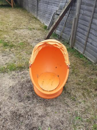 Image 3 of Childrens Swivel Egg Chair