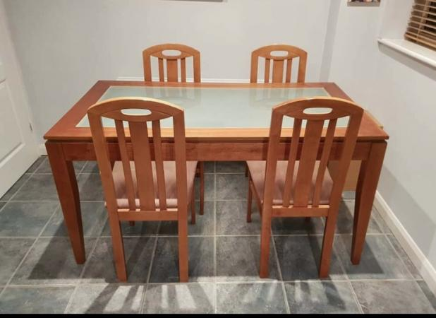 Dining Room Table With 4 Chairs For Sale In Newcastle Upon Tyne And Wear