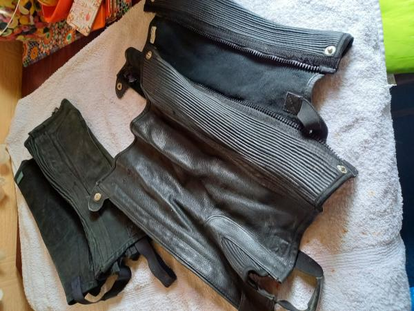 Image 9 of horse rugs stirupps spurs double bridle full size gaiters al