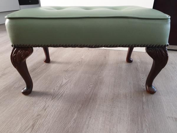 Image 3 of Leather Stool