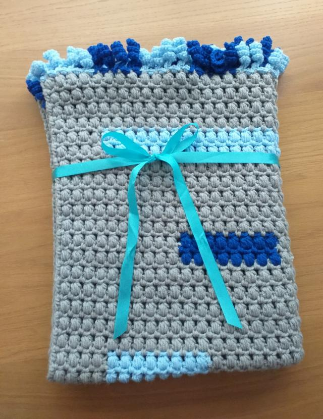 Preview of the first image of New Handmade Blanket Throw Sofa Home Decor Crocheted.