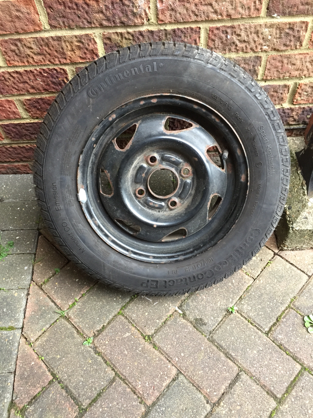 Ford Fiesta Ka Fusion Wheel And Tyre