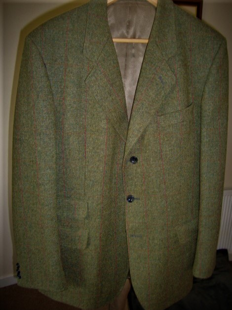 Preview of the first image of Tweed sports jacket.