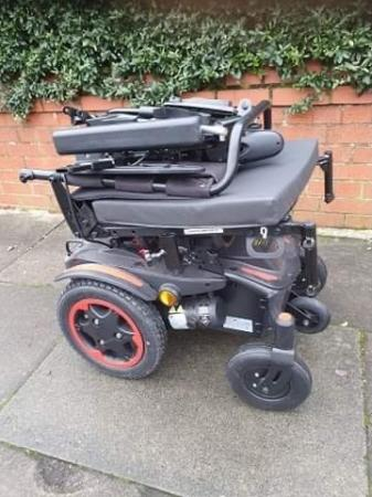 Image 6 of Quickie Q100 R  Ultra Compact Electric Power Wheelchair.