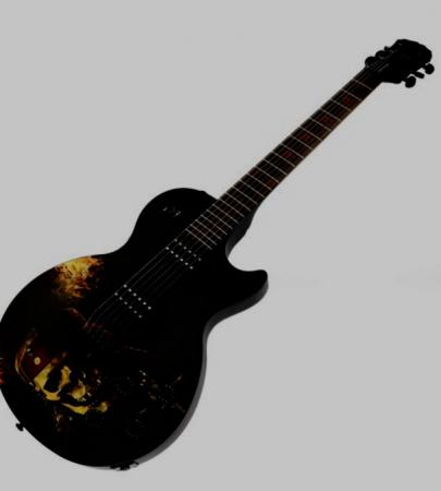 Image 5 of Epiphone les Paul Pirates of the Caribbean Collectors Piece.