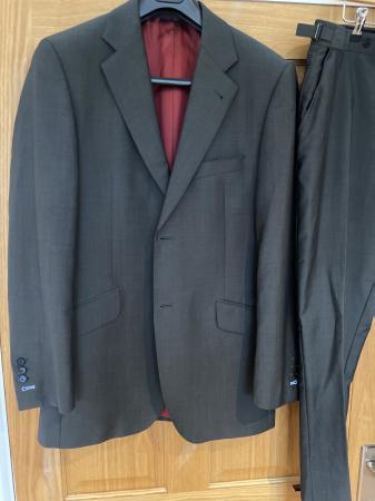 Image 1 of Men's charcoal grey saville row suit
