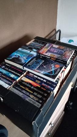 Image 1 of 200+ STARTREK PAPER BACK BOOKS.