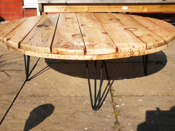 Upcycled Cable Drum Coffee Table For In Bridgwater Somerset Preloved