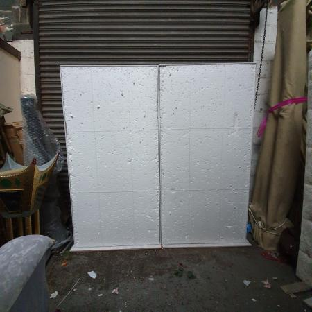 Image 1 of Free standing foam boards flowerwall with replacement foams