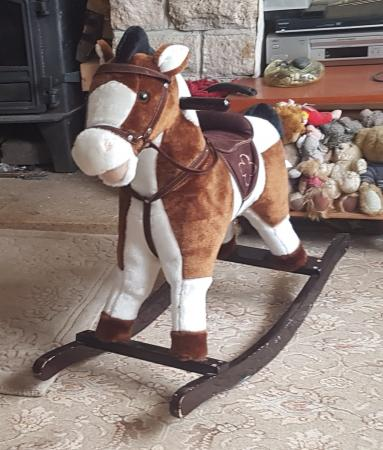Image 2 of SOFT TOUCH ROCKING HORSE