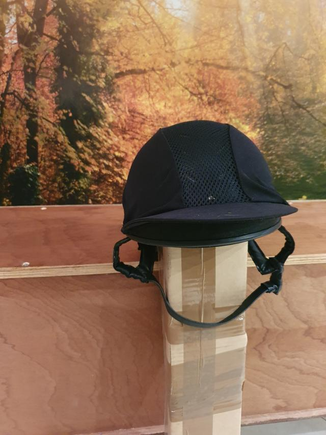 Preview of the first image of Charles Owen Riding Hat Black size.