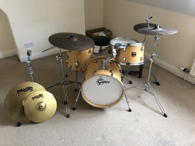 Preview of the first image of Gretsch Catalina Club Jazz Drum Kit £300 extras +£300.