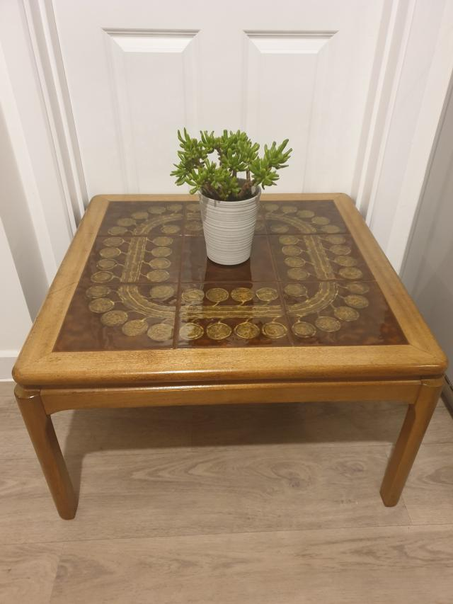 Preview of the first image of ?? NATHAN TILED COFFEE TABLE ??.