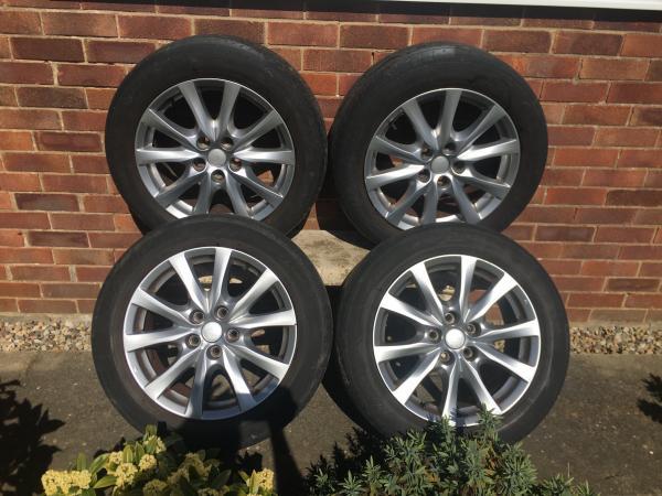 Image 1 of Mazda 6 set of 4x wheels